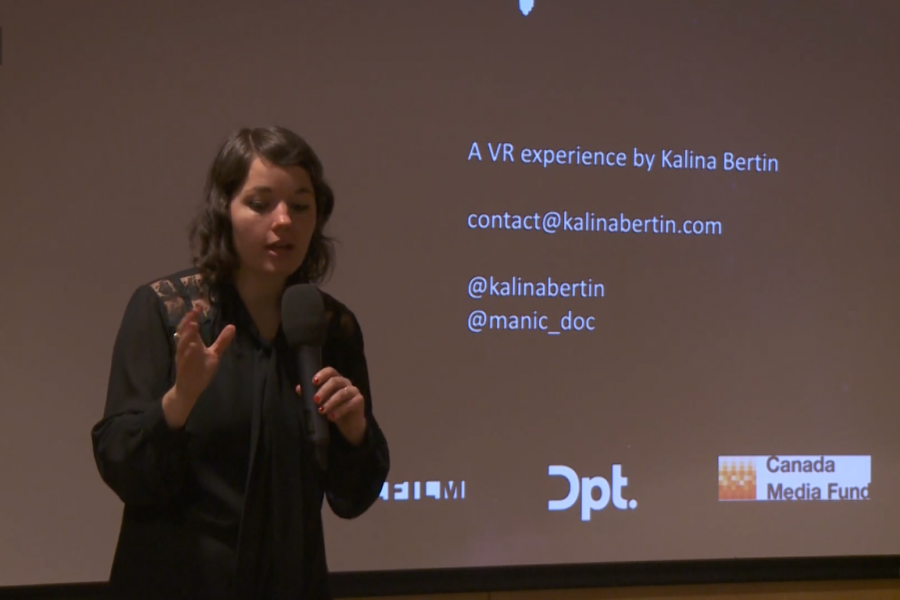 Watch Kalina Bertin's lecture on Manic VR