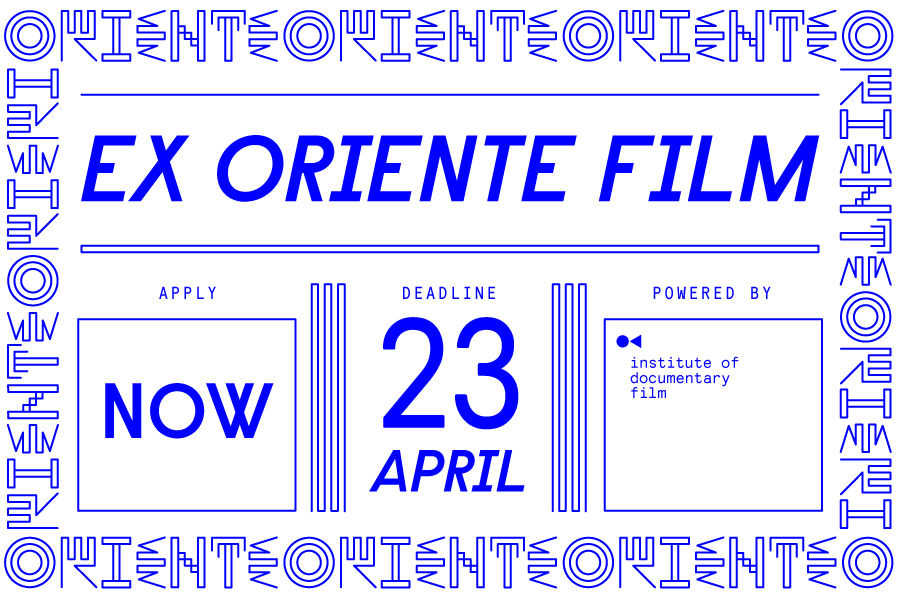 Ex Oriente Film 2021 is waiting for your projects!