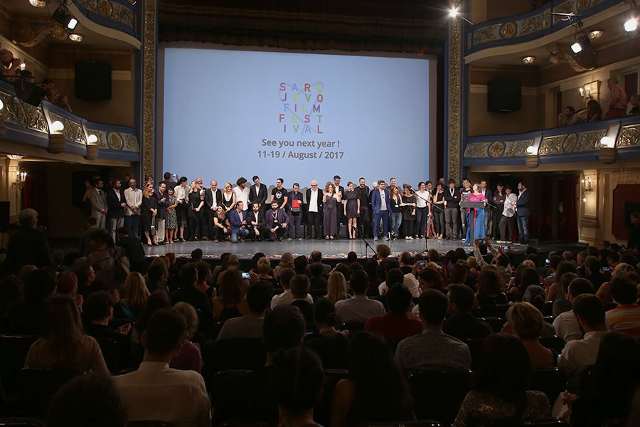 The Heart of Sarajevo for Best Documentary Film goes to A Mere Breath