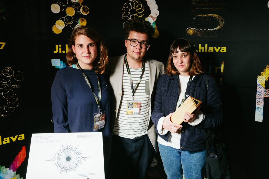 Institute of Documentary Film presented Silver Eye Awards to three remarkable films in Jihlava